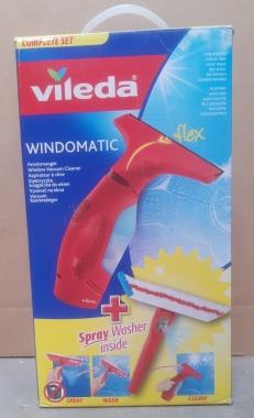 VILEDA Myjka do szyb okien Windowmatic RED Set zestaw OUTLET 26