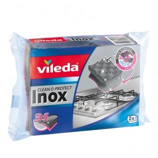 VILEDA Zmywak INOX Clean & Shine