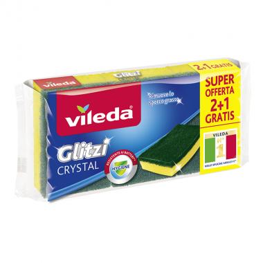 VILEDA Zmywak Glitzi Crystal 2+1