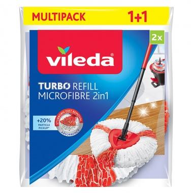 VILEDA Wkład do mopa obrotowego Vileda Turbo 2w1 2szt