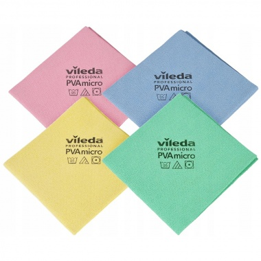 Vileda Professional ścierka PVA micro multicolor 4 szt.