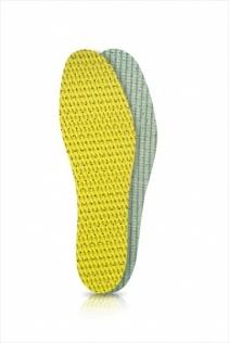 SECO Wkładki do butów latex zielono-żółty r. 40