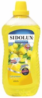 Sidolux Uniwersalny płyn do mycia podłóg 1l - cytryna
